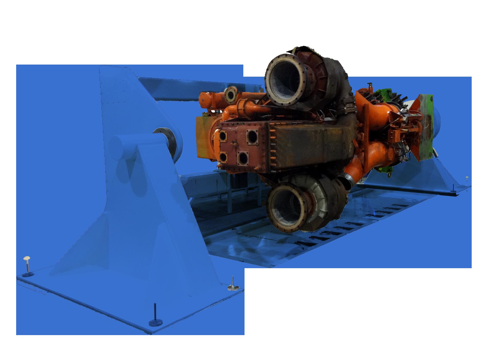 Big engine stand